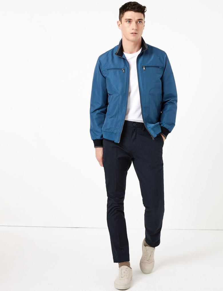 Erkek Mavi Stormwear™ Bomber Ceket