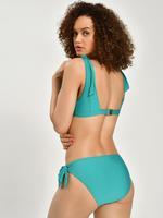 Kadın Mavi Bağlamalı Bikini Üstü