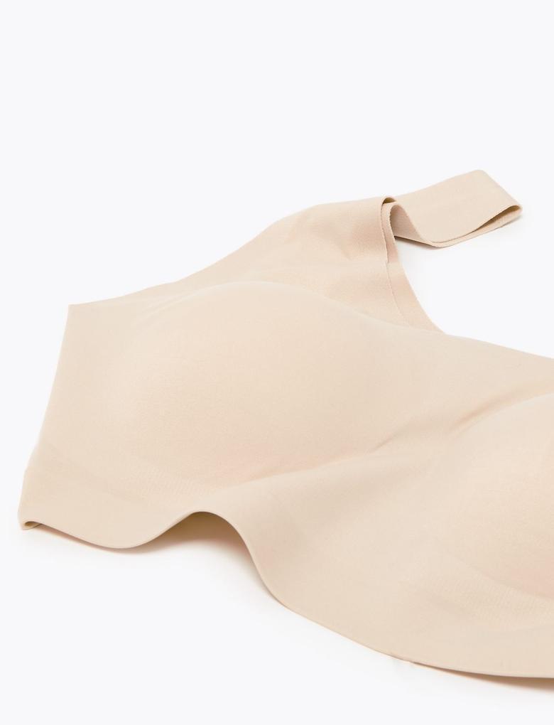 Kadın Bej Flexifit™ Crop Bralet