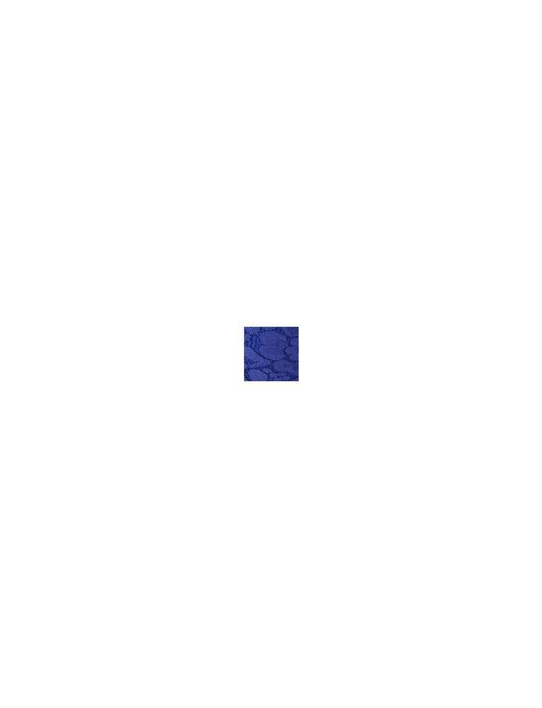 Kadın Mavi Dantelli Balensiz Full Cup Bralet