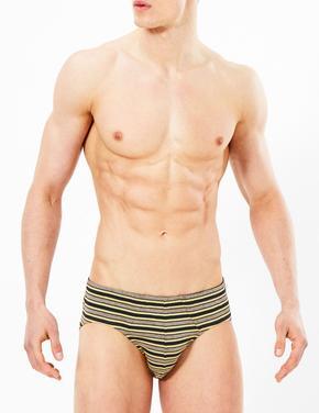 Erkek Multi Renk 4'lü Cool & Fresh™ Slip Külot Seti