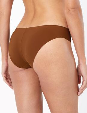 Kadın Kahverengi Body™ İz Bırakmayan Brazilian Külot