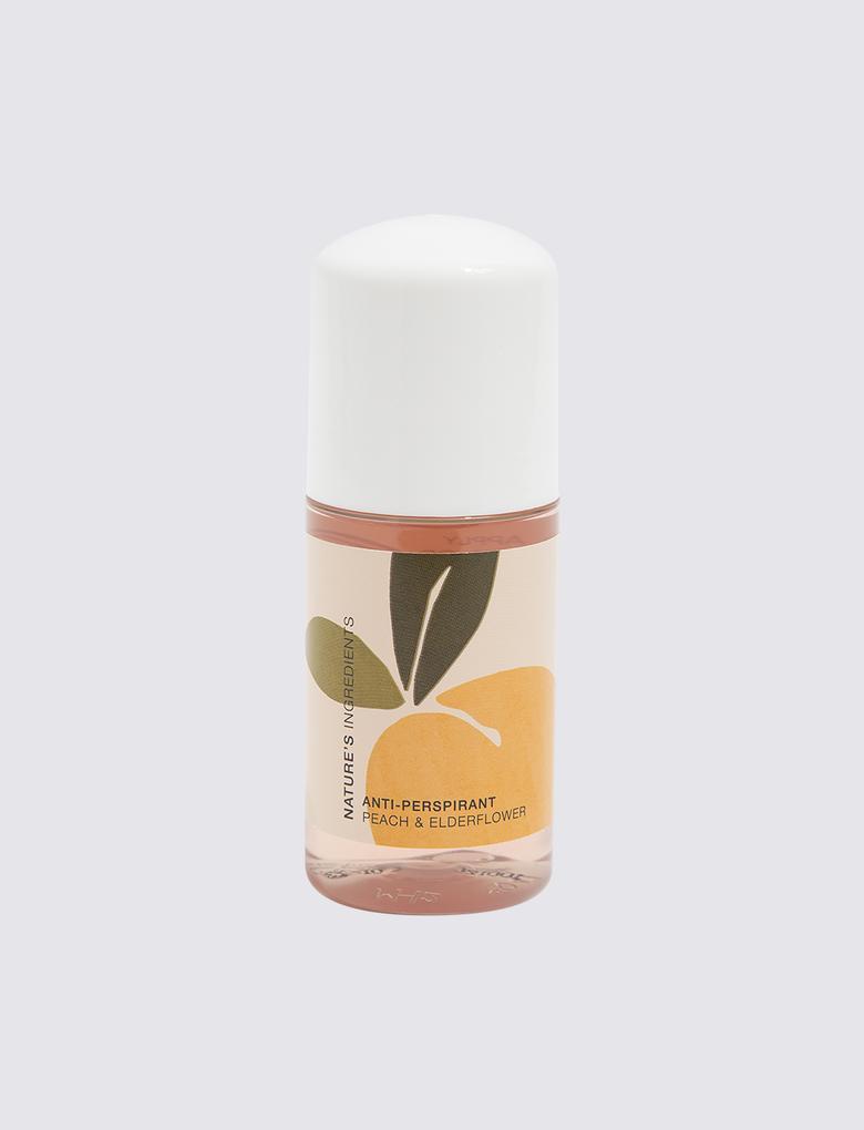 Kozmetik Renksiz Şeftali Kokulu Roll On Deodorant 50ml