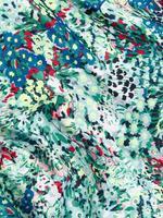 Kadın Yeşil Desenli Şal