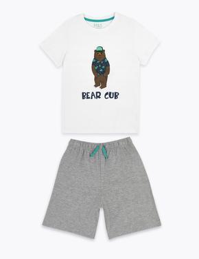 Çocuk Multi Renk Pamuklu Baskılı T-Shirt Takım