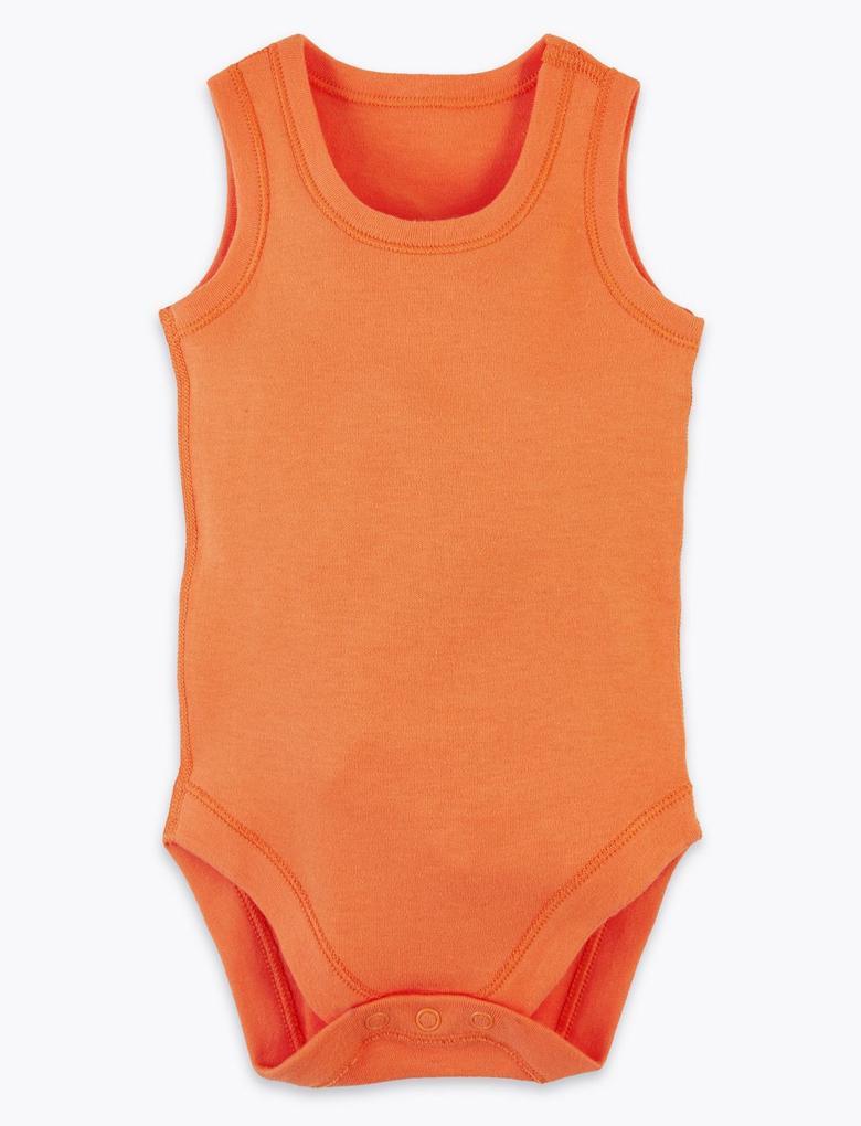 Bebek Multi Renk 5'li Pamuklu Body  Seti