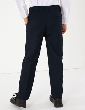 Çocuk Lacivert Pamuklu Pantolon