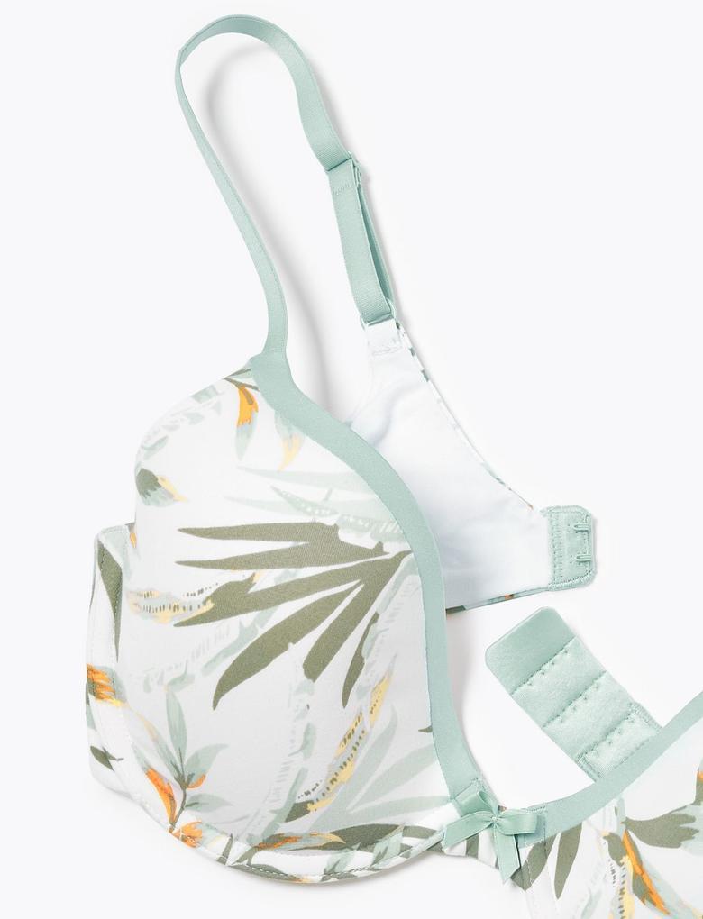 Kadın Yeşil Sumptuously Soft™ Plunge T-Shirt Sütyeni