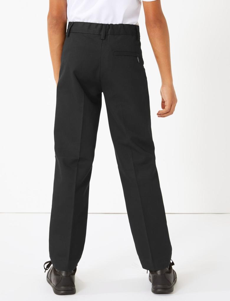 Çocuk Siyah Okul Pantolonu