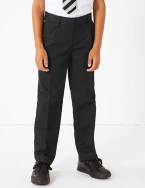 Çocuk Siyah Regular Leg Pantolon