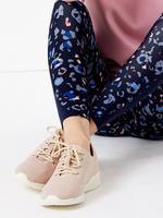 Kadın Pembe File Spor Ayakkabı
