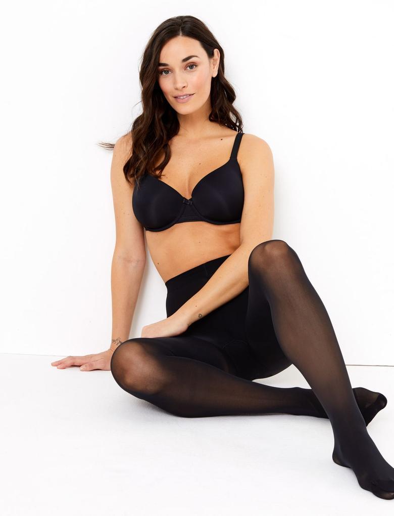 Kadın Siyah 3'lü Body Sensor™ 30 Denye Külotlu Çorap Seti