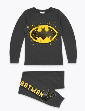 Çocuk Siyah Lego® Batman™ Pijama Takımı