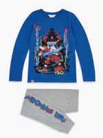 Çocuk Mavi Lego® Ninjago Pijama Takımı