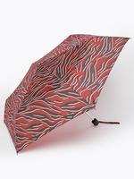 Kadın Bordo Desenli Kompakt Şemsiye