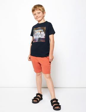 Erkek Çocuk Lacivert Star Wars™ Kısa Kollu T-Shirt