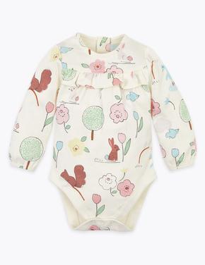 Bebek Beyaz Saf Pamuklu Body Eşofman Altı ve Şapka Takımı