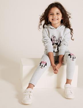 Kız Çocuk Gri Disney Minnie Mouse™ Tayt