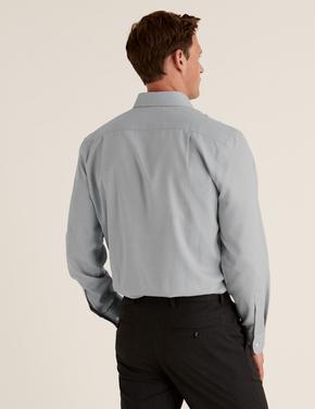 Erkek Siyah 3'lü Regular Fit Gömlek Seti
