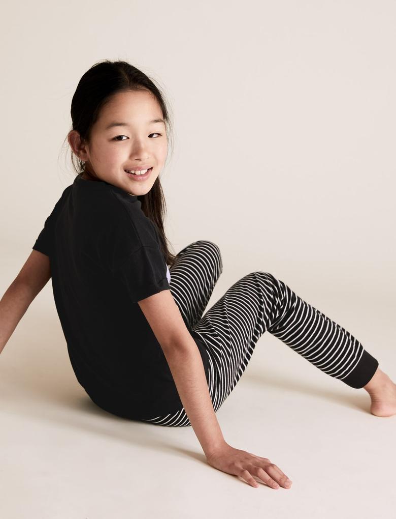 Çocuk Siyah Disney Princess™ Pijama Takımı