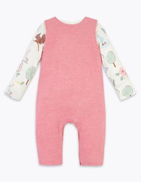 Bebek Pembe 2'li Tulum ve Body Takımı
