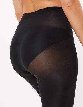Kadın Siyah 3'lü 60 Denye Mat Külotlu Çorap Seti