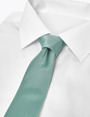Yeşil Özel Dokulu Kravat
