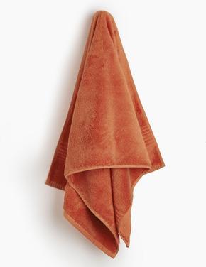 Kahverengi Luxury Mısır Pamuğu Havlu