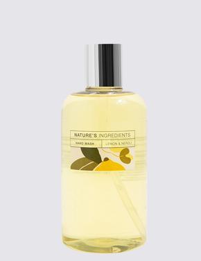 Kozmetik Renksiz Limon ve Portakal Çiçeği Sıvı Sabun