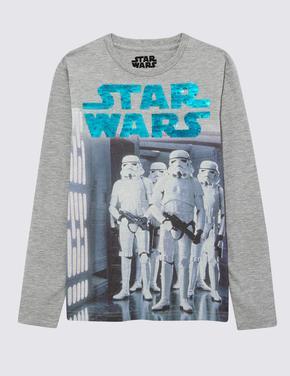 Erkek Çocuk Beyaz Star Wars™ T-Shirt