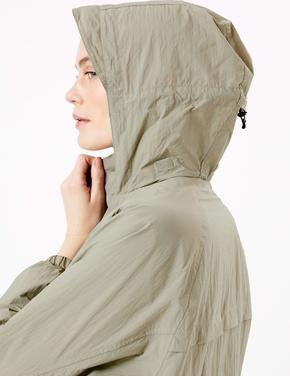 Kadın Yeşil Bomber Ceket