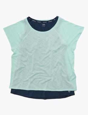 Kadın Yeşil 2'li T-Shirt Seti
