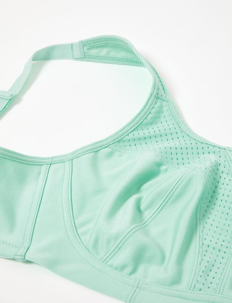 Kadın Yeşil 2'li Yüksek Etkili Spor Sütyeni Seti A-H