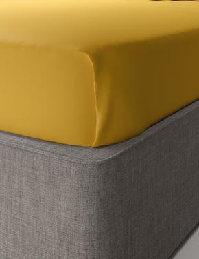 Ev Sarı Percale Kumaş Çarşaf