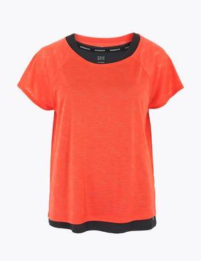 Kadın Turuncu 2'li T-Shirt Seti