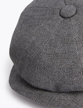 Erkek Gri Thermowarmth™ Dokulu Şapka