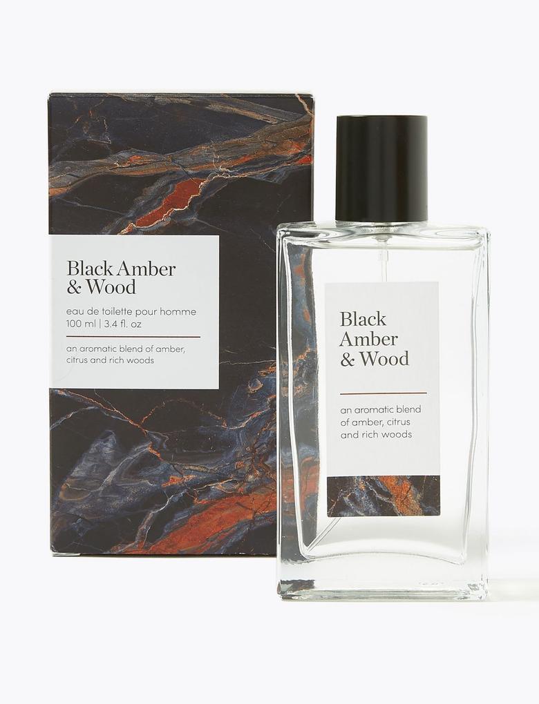 Kozmetik Renksiz Black Amber & Wood Eau de Toilette 100ml