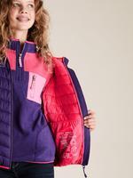 Kız Çocuk Mor Kapüşonlu Mont (Stormwear™ Teknolojisi ile)