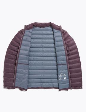 Mor Hafif Kaz Tüyü (Down ve Feather) Mont (Stormwear™ Teknolojisi ile)