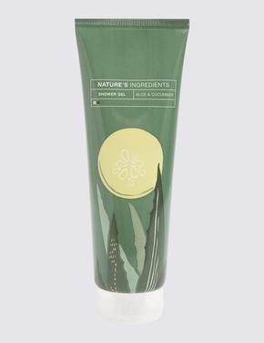 Kozmetik Renksiz Aloe Vera ve Salatalık Özlü Duş Jeli