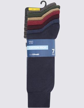 Erkek Multi Renk 7'li Çorap Seti