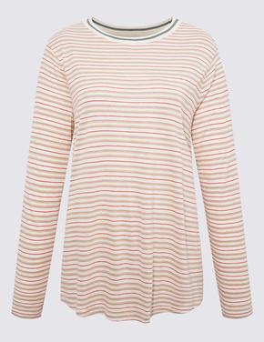Kırmızı Uzun Kollu T-Shirt