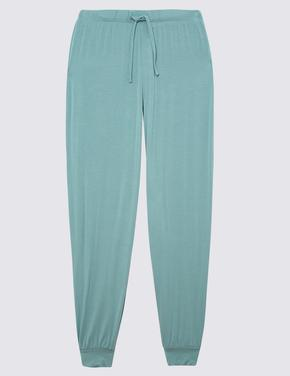 Kadın Mavi Pijama Altı