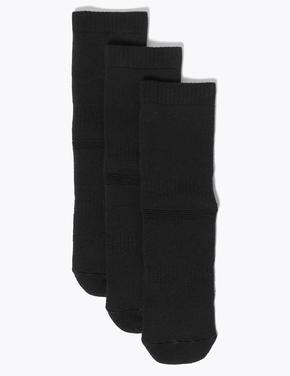 Çocuk Siyah 3'lü Termal Çorap Seti
