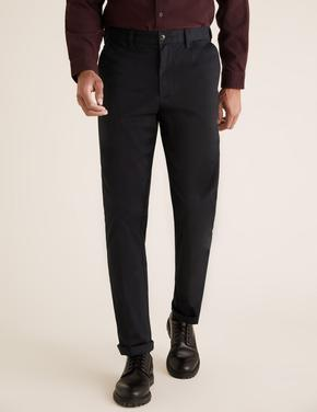 Siyah Blue Harbour Premium Regular Fit Chino