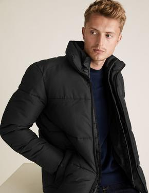 Siyah Stormwear™ Pufa Mont