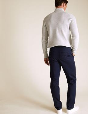 Lacivert Blue Harbour Premium Regular Fit Chino