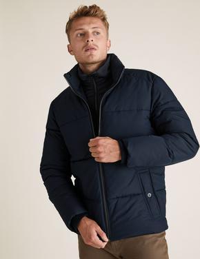 Lacivert Stormwear™ Pufa Mont
