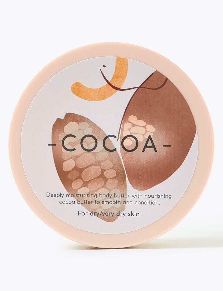 Kozmetik Renksiz Kakaolu Vücut Kremi