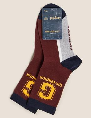 Çocuk Kırmızı Sloganlı Soket Çorap
